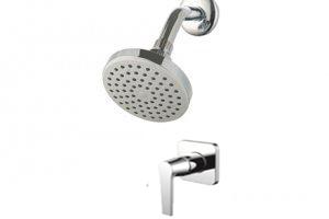 Mezc monocomando para ducha con regadera 973 065a manija cuadrada for Manijas de regadera